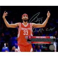 Corey Brewer Houston Rockets Signed 8x10 Matte Photo TRISTAR Authenticated