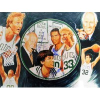 Boston Celtics Red Auerbach, Robert Parish, Kevin McHale Signed 16x20 Photo JSA Authenticated