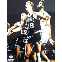 Dave Cowens Boston Celtics Signed 11x14 Glossy Photo PSA/DNA Authenticated
