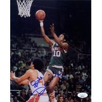 Bob Dandridge Milwaukee Bucks Signed 8x10 Matte Photo JSA Authenticated