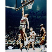 Dave DeBusscher New York Knicks Signed 8x10 Glossy Photo JSA Authenticated