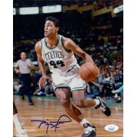 Rick Fox Boston Celtics Signed 8x10 Glossy Photo JSA Authenticated