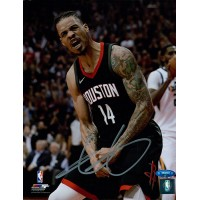 Gerald Green Houston Rockets Signed 8x10 Matte Photo TRISTAR Authenticated
