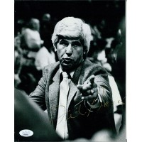 Del Harris Basketball Coach Signed 8x10 Glossy Photo JSA Authenticated