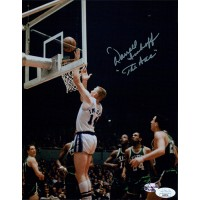 Darrall Imhoff Los Angeles Lakers Signed 8x10 Glossy Photo JSA Authenticated