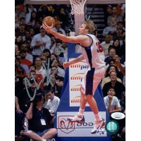 Chris Kaman Los Angeles Clippers Signed 8x10 Glossy Photo JSA Authenticated
