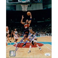 Jason Kidd Phoenix Suns Signed 8x10 Glossy Photo JSA Authenticated