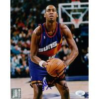 Danny Manning Phoenix Suns Signed 8x10 Glossy Photo JSA Authenticated
