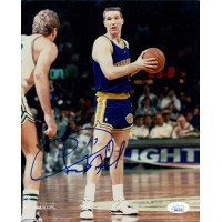 Chris Mullin Golden State Warriors Signed 8x10 Glossy Photo JSA Authenticated