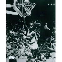 Calvin Murphy Houston Rockets Signed 8x10 Glossy Photo JSA Authenticated