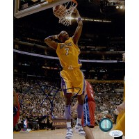 Lamar Odom Los Angeles Lakers Signed 8x10 Glossy Photo JSA Authenticated