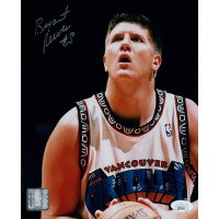 Bryant Reeves Vancouver Grizzlies Signed 8x10 Glossy Photo JSA Authenticated