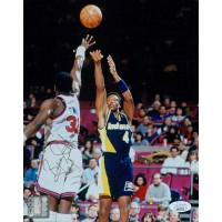 Byron Scott Indiana Pacers Signed 8x10 Glossy Photo JSA Authenticated