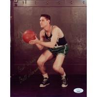 Bill Sharman Boston Celtics Signed 8x10 Glossy Photo JSA Authenticated