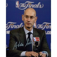 Adam Silver NBA Commissioner Signed 8x10 Matte Photo Beckett Authenticated BAS