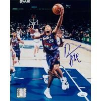 Damon Stoudamire Toronto Raptors Signed 8x10 Glossy Photo JSA Authenticated