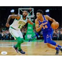 Allonzo Trier New York Knicks Signed 8x10 Matte Photo JSA Authenticated