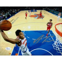 Allonzo Trier New York Knicks Signed 8x10 Glossy Photo JSA Authenticated