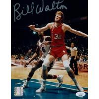 Bill Walton Portland Trail Blazers Signed 8x10 Glossy Photo JSA Authenticated