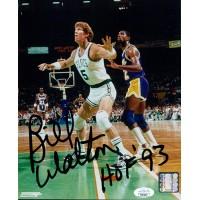 Bill Walton Boston Celtics Signed 8x10 Glossy Photo JSA Authenticated