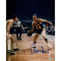 Jerry West Los Angeles Lakers Signed 8x10 Matte Photo Upper Deck Authenticated