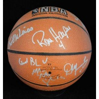 Los Angeles Clippers Signed 1993-94 Team Basketball by 6 JSA Authenticated