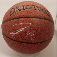 Pau Gasol Signed Spalding In/Outdoor Grip Control Basketball JSA Authenticated