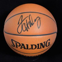 Tim Hardaway Signed Spalding Official Game Basketball JSA Authenticated