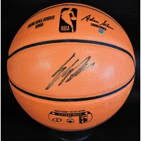 Enes Kanter Signed Spalding Indoor/Outdoor Basketball Steiner Authenticated