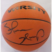 Shawn Kemp Signed NBA Wilson Varsity Basketball Upper Deck UDA Authenticated