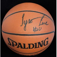 Tyronn Lue Signed Spalding Indoor/Outdoor Basketball JSA Authenticated
