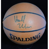 Harold Miner Signed Spalding Indoor/Outdoor Basketball JSA Authenticated