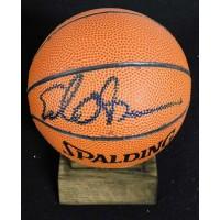 "Ed O'Bannon Signed Spalding Mini 5"" NBA Basketball JSA Authenticated"