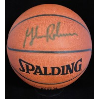 Glenn Robinson Signed Spalding Indoor/Outdoor NBA Basketball JSA Authenticated