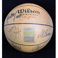 Phoenix Suns 1979-80 Team Signed Basketball JSA Authenticated