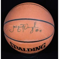 Jacque Vaughn Signed Spalding Indoor/Outdoor Basketball JSA Authenticated