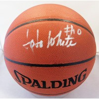 JoJo White Signed Spalding Full Size Indoor/Outdoor Basketball PSA Authenticated