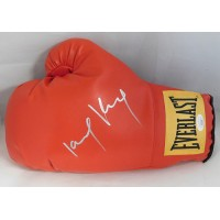 """Joseph """"King Kong"""" Agbeko Signed Red Everlast Boxing Glove JSA Authenticated"""