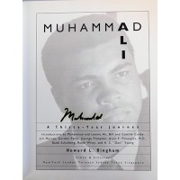 Muhammad Ali Signed A Thirty-Year Journey Hardcover Book JSA Authenticated