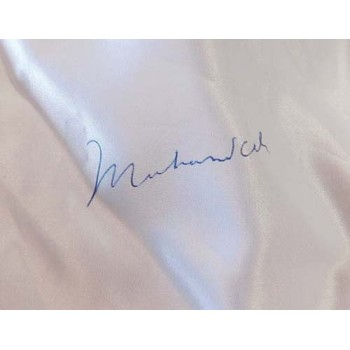 Muhammad Ali and Ken Norton Signed Everlast White Boxing Trunks JSA Authenticated