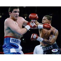Monte Barrett Boxer Signed 8x10 Glossy Photo PSA Authenticated