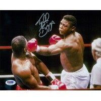 Tyrell Briggs Boxer Signed 8x10 Matte Photo PSA Authenticated