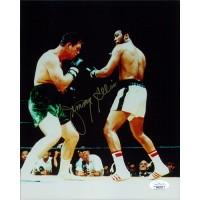 Jimmy Ellis Boxer Signed 8x10 Glossy Photo JSA Authenticated