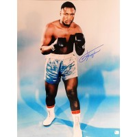Joe Frazier Boxer Signed 16x20 Glossy Photo Global Authenticated