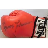 Ingemar Johansson Signed Vintage Red Everlast Boxing Glove JSA Authenticated