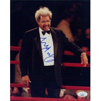 Don King Boxing Promoter Signed 8x10 Glossy Photo JSA Authenticated