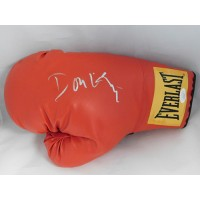 Don King Boxing Promoter Signed Red Everlast Boxing Glove JSA Authenticated