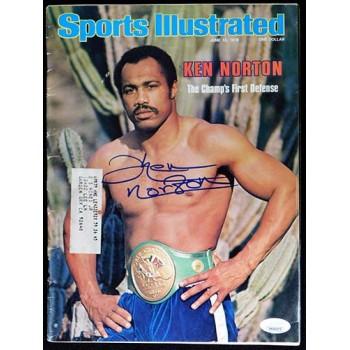 Ken Norton Boxer Signed 6/12/78 Sports Illustrated Magazine JSA Authenticated