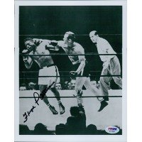 Floyd Patterson Boxer Signed Glossy 8x10 Photo PSA/DNA Authenticated