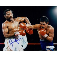 Aaron Hawk Time Pryor Boxer Signed Glossy 8x10 Photo JSA Authenticated